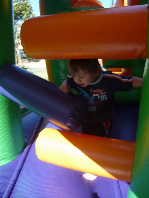 Bouncy Castle Inflatable Obstacle Course Hire Perth