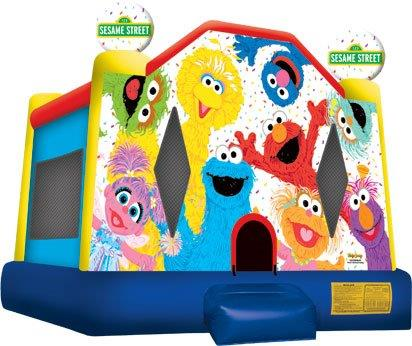 Bouncy Castle Hire Perth Sesame Street