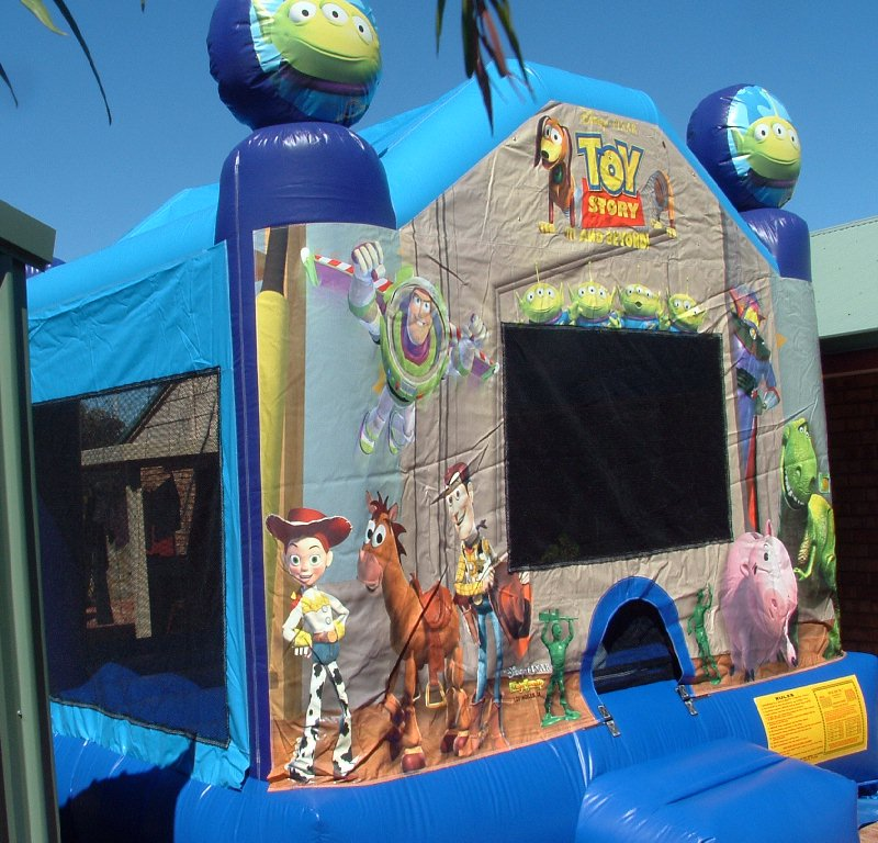 Bouncy Castle Hire Perth Toy Story