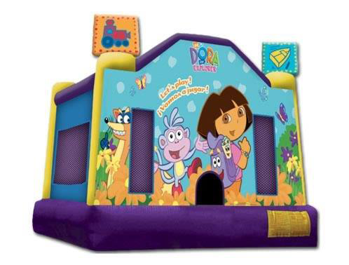 Dora Bouncy Castle Hire Perth