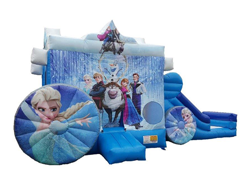 Frozen Bouncy Castle inflatable Slide Hire Perth